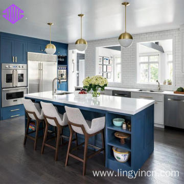 Painted Shaker Modular Kitchen Cabinets Images